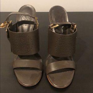 Tory Burch brown heel sandal